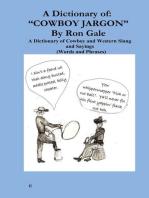 "A Dictionary of ""Cowboy Jargon"""