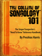 The College of Songology 101