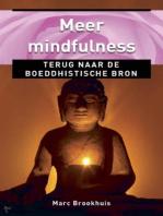 Meer Mindfulness, terug naar de boeddhistische bron