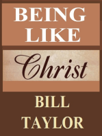 Being Like Christ