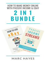 How To Make Money Online with Passive Income & Ebay (2 in 1 Bundle)