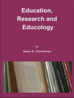 Education, Research and Educology