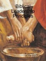 Biblical Leadership Principles