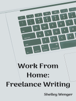 Work From Home: Freelance Writing