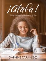 ¡Alaba! 31 Días Anotando las Bendiciones de Dios