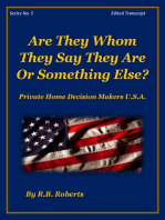 Are They Whom They Say They Are ...Or Something Else?! Series No. 5 [PHDMUSA]