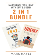 Make Money From Home with Ebay & Udemy (2 in 1 Bundle)