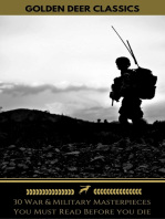 30 War & Military Masterpieces You Must Read Before you die (Golden Deer Classics)