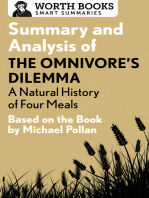 Summary and Analysis of The Omnivore's Dilemma