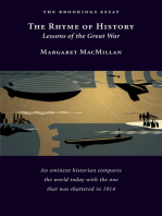 The Rhyme of History: Lessons of the Great War