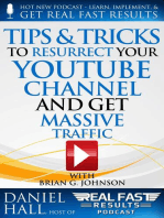 Tips & Tricks to Resurrect Your YouTube Channel and Get Massive Traffic