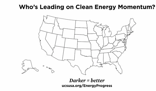Who's Driving Clean Energy Momentum? Ranking State
