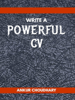 Write a Powerful CV