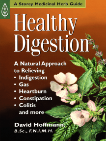 Healthy Digestion: A Natural Approach to Relieving Indigestion, Gas, Heartburn, Constipation, Colitis, and More