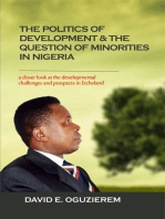 The Politics of Development & The Question of Minorities in Nigeria