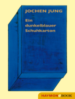 Ein dunkelblauer Schuhkarton