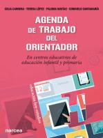 Agenda de trabajo del Orientador: En centros educativos de educación infantil y primaria