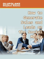 How to Generate Sales and Leads on the Social Media