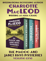 The Madoc and Janet Rhys Mysteries Volume One