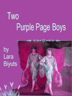 Two Purple Page Boys
