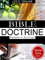 Bible Doctrine Made Easy - Elements of the Gospel