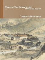 Women of Van Diemen's Land - Staffordshire Convicts