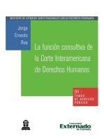 La función consultiva de la Corte Interamericana de Derechos Humanos