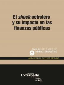 El shock petrolero y su impacto en las finanzas públicas