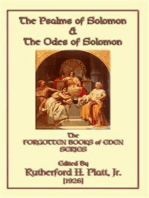 The Psalms of Solomon and the Odes of Solomon