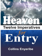Heaven Twelve Imperatives For Entry