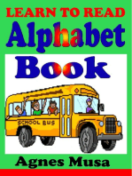 Learn To Read Alphabet Book