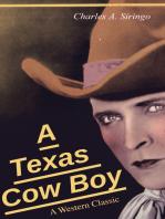 A Texas Cow Boy (A Western Classic)