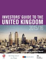 Investors' Guide to the United Kingdom 2015/16
