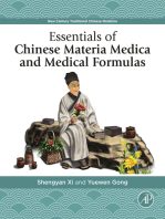 Essentials of Chinese Materia Medica and Medical Formulas