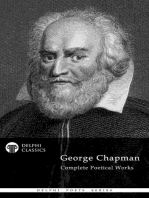 Delphi Complete Poetry of George Chapman (Illustrated)