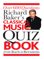 Richard Baker's Classical Music Quiz Book