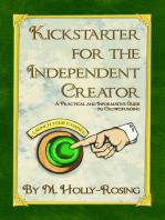 Kickstarter for the Independent Creator