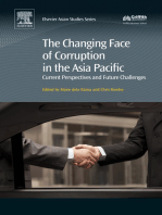 The Changing Face of Corruption in the Asia Pacific: Current Perspectives and Future Challenges