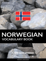Norwegian Vocabulary Book: A Topic Based Approach