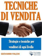Tecniche e strategie di Vendita