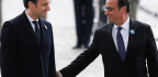 Emmanuel Macron's First Act as France's President-Elect