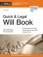 Quick & Legal Will Book