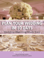 Plan Your Wedding in 10 Days