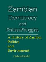 Zambian Democracy and Political Struggles