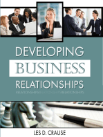 Developing Business Relationships