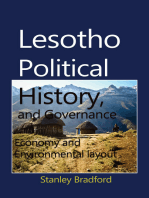 Lesotho Political History, and Governance
