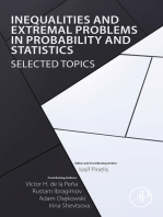 Inequalities and Extremal Problems in Probability and Statistics: Selected Topics
