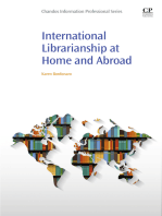 International Librarianship at Home and Abroad