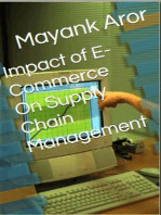 Impact of E-Commerce On Supply Chain Management