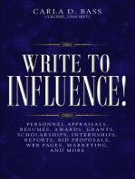 Write to Influence!